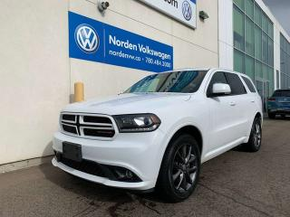 Used 2018 Dodge Durango GT AWD - LOADED! for sale in Edmonton, AB