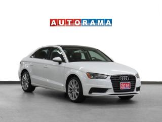 Used 2016 Audi A3 2.0T Progressiv AWD Navigation Leather Sunroof for sale in Toronto, ON