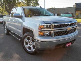 Used 2015 Chevrolet Silverado 1500 LS 4x4 Double Cab Pickup 143.5 in. WB for sale in Brantford, ON