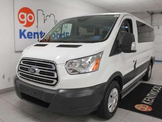 Used 2015 Ford Transit Wagon T150 XLT RWD low roof with power drivers seat and climate control for sale in Edmonton, AB