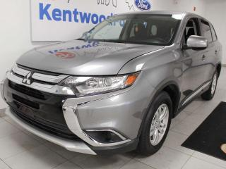 Used 2018 Mitsubishi Outlander ES 4WD AWC with heated seats, back up cam and more spacious than space for sale in Edmonton, AB