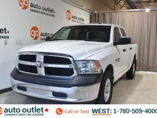 Used 2016 RAM 1500 St, 5.7L V8, 4x4, Crew cab, Short box, Tow/haul package, Cloth seats, Front row 3 seating for sale in Edmonton, AB