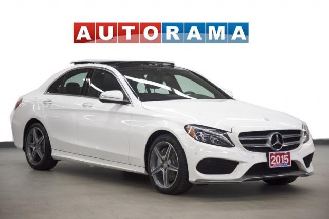 2015 Mercedes-Benz C-Class C400 AMG Pkg 4WD Navigation Leather Sunroof