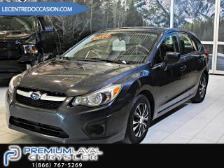Used 2014 Subaru Impreza AWD/JAMAIS ACCIDENTÉ/BAS KM for sale in Laval, QC