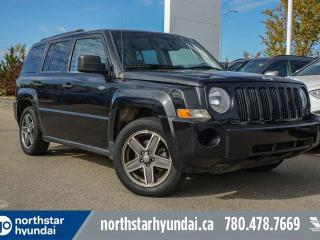 Used 2009 Jeep Patriot SPORT 4X4/CRUISE/AC/LOWKMS for sale in Edmonton, AB