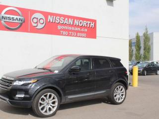 Used 2015 Land Rover Evoque Pure Plus/4WD/ONE OWNER/PANO ROOF for sale in Edmonton, AB