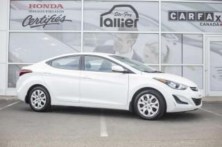Used 2015 Hyundai Elantra GL ***MECANIQUE A1*** for sale in Québec, QC