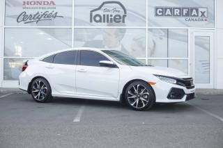 Used 2019 Honda Civic SI ***GARANTIE 10ANS/200 000KM*** for sale in Québec, QC