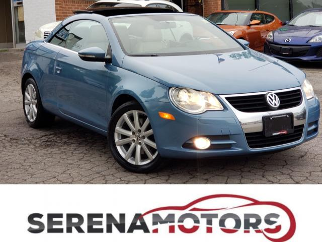 2010 Volkswagen Eos AUTO | COMFORTLINE |  LEATHER | HDS | NO ACCIDENTS