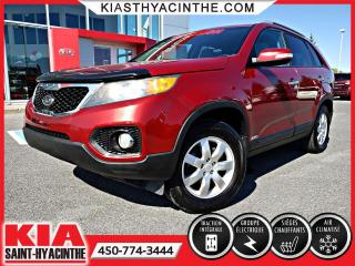 Used 2011 Kia Sorento LX AWD ** SIÈGES CHAUFFANTS + A/C for sale in St-Hyacinthe, QC