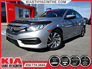 Used 2016 Honda Civic EX * TOIT OUVRANT / CAMÉRA DE RECUL for sale in St-Hyacinthe, QC