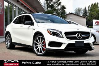 Used 2015 Mercedes-Benz GLA GLA 45 AMG 355 HP!!!!!!!! EXCLUSIVE PKG!!!! for sale in Pointe-Claire, QC