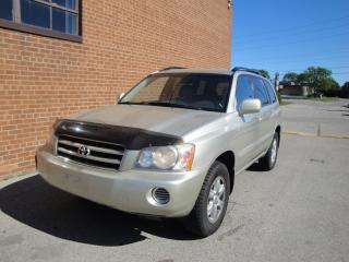 Used 2003 Toyota Highlander LEATHER, 5 Passenger for sale in Oakville, ON