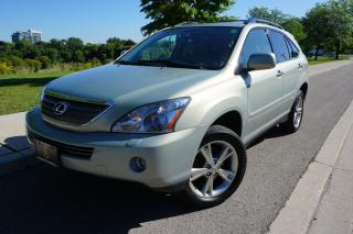 Used 2008 Lexus RX 400h IMMACULATE / HYBRID / NO ACCIDENTS / LOCALLY OWNED for sale in Etobicoke, ON