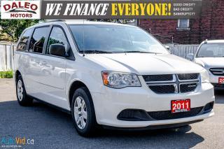 Used 2011 Dodge Grand Caravan SE | 7 PASSENGER | VOICE COMMAND | SIRIUS RADIO | for sale in Hamilton, ON