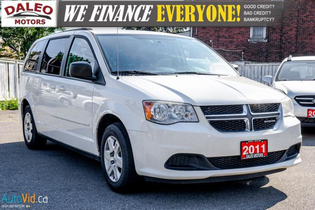 2011 Dodge Grand Caravan SE | 7 PASSENGER | VOICE COMMAND | SIRIUS RADIO |