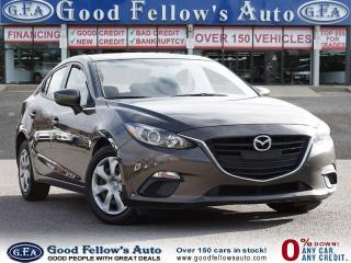 Used 2015 Mazda MAZDA3 GX MODEL, COMFORT PACKAGE, SKYACTIV, FWD for sale in Toronto, ON