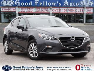 Used 2015 Mazda MAZDA3 SPEED SKYACTIV-DRIVE SPORT MODEL, REARVIEW CAMERA for sale in Toronto, ON