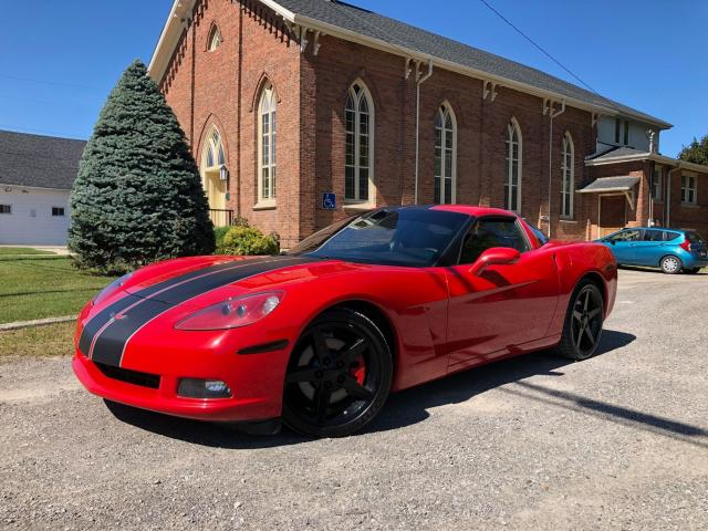 2007 Chevrolet Corvette 6 SPEED MANUAL - LEATHER - CERTIFIED