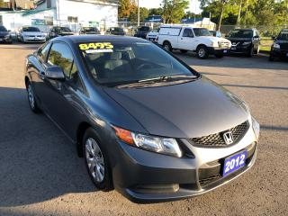 Used 2012 Honda Civic LX for sale in St Catharines, ON