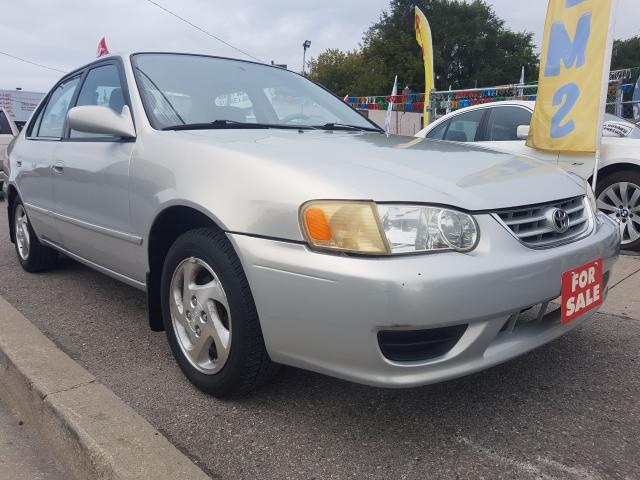 2001 Toyota Corolla LE- MINT- ONLY111KM- 4CYL-GAS SAVER-ALLOYS