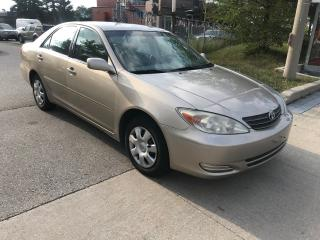 Used 2003 Toyota Camry SHIPPERS SPECIAL,4 CYLENDERS$2200 for sale in Toronto, ON