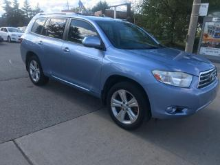 Used 2008 Toyota Highlander LIMITED,7PASS,NAV,SAFETY+3YEARS WARRANTY INCLUDED for sale in Toronto, ON