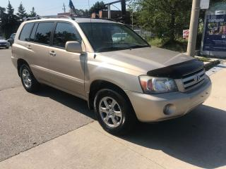 Used 2006 Toyota Highlander SHIPPERS SPECIAL,$4888,307KM,LEATHER,ALLOYS, for sale in Toronto, ON