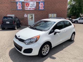 Used 2014 Kia Rio 1.6L/ONE OWNER/NO ACCIDENT/SAFETY INCLUDED for sale in Cambridge, ON