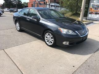 Used 2010 Lexus ES 350 NAV,LEATHER,S/ROOF,SAFETY+3YRS WARANTY INCLU for sale in Toronto, ON