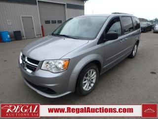 Used 2017 Dodge Grand Caravan SXT Wagon 3.6L for sale in Calgary, AB