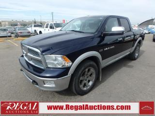 Used 2012 RAM 1500 Laramie Crew CAB SWB 4WD 5.7L for sale in Calgary, AB