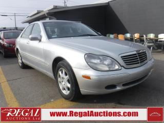Used 2000 Mercedes-Benz S-Class S430W 4D Sedan for sale in Calgary, AB