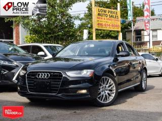 Used 2015 Audi A4 SLine*AllPower*Leather*Sunroof*AWD*XenonPack! for sale in Toronto, ON
