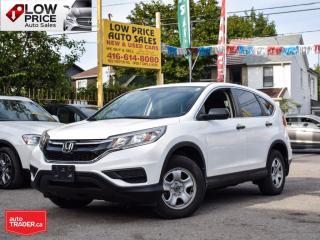 Used 2016 Honda CR-V LXPlus*AllPowerOpti*HtdSeats*Camera*HondaWarranty* for sale in Toronto, ON