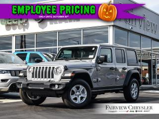 Used 2019 Jeep Wrangler Unlimited Sport S for sale in Burlington, ON