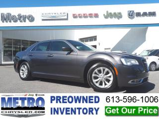 Used 2018 Chrysler 300 Touring Fully Loaded and Mint for sale in Ottawa, ON