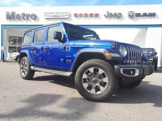 Used 2020 Jeep Wrangler Unlimited Sahara for sale in Ottawa, ON