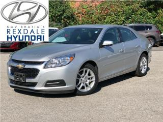 Used 2015 Chevrolet Malibu 2015 Chevrolet Malibu - 4dr Sdn LT w-1LT for sale in Toronto, ON