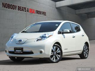 Used 2015 Nissan Leaf SL, Leather, 360 Cameras, NEW EV Tires, Chademo for sale in Mississauga, ON