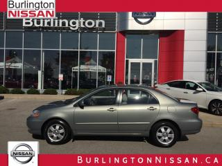 Used 2004 Toyota Corolla LE, 70,000 ORIGINAL KM'S ! ACCIDENT FREE !, 1 ONR for sale in Burlington, ON