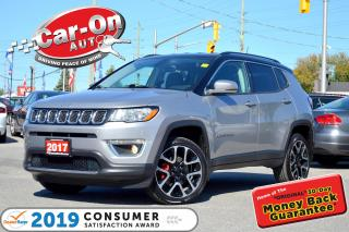Used 2017 Jeep Compass Limited 4X4 LEATHER REAR CAM NAV READY 30, 000 KM for sale in Ottawa, ON