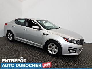 Used 2015 Kia Optima LX Automatique - AIR CLIMATISÉ - Sièges Chauffants for sale in Laval, QC
