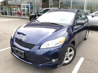 Used 2012 Toyota Matrix Base (A4) for sale in North Vancouver, BC