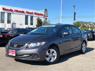 Used 2015 Honda Civic Sedan LX - Heated Seats -  Rear Camera for sale in Mississauga, ON