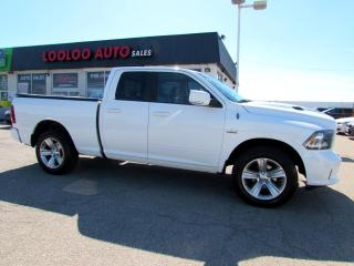 Used 2013 RAM 1500 SPORT QUAD CAB 4WD HEMI ONE OWNER CERTIFIED for sale in Milton, ON