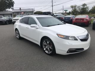 Used 2012 Acura TL AWD w/ Advance Pkg for sale in Truro, NS