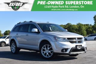 Used 2014 Dodge Journey SXT - One Owner, New Tires, Highway Kms for sale in London, ON