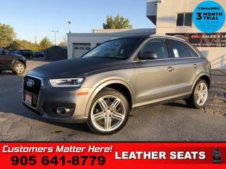 Used 2015 Audi Q3 2.0T Progressiv  LEATH PANO-ROOF PWR-SEATS HS for sale in St. Catharines, ON