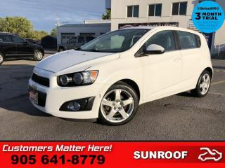 Used 2015 Chevrolet Sonic LT  ROOF  B/U-CAM ALLOYS AUTO for sale in St. Catharines, ON